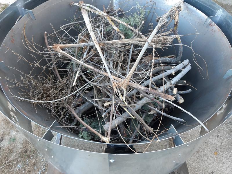 Biomasa utilizada para la producción de biochar