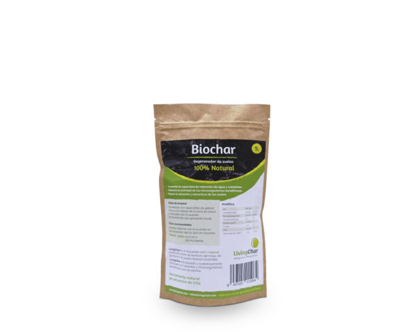 Biochar LivingChar 1L
