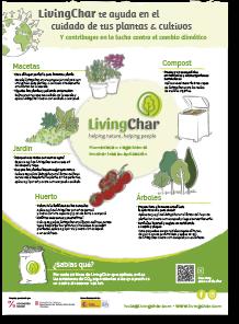 Livingchar biochar Infografia