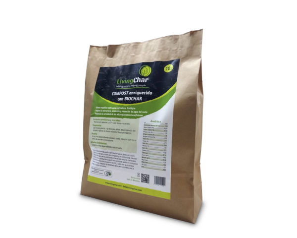 Livingchar compost 10L 1