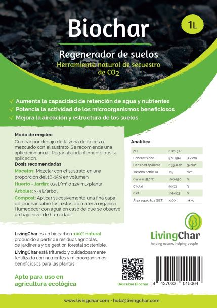 LivingChar etiqueta Biochar 1L A5 Web small